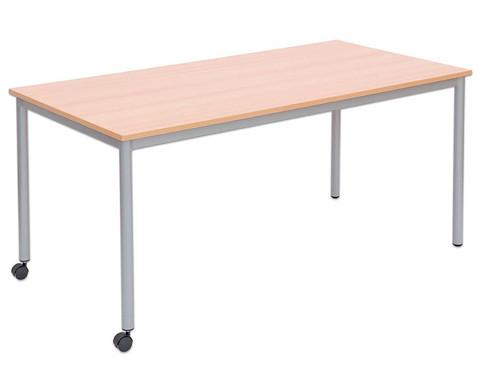 Varimax Rechteck-Tisch II fahrbar Hoehe 72 cm