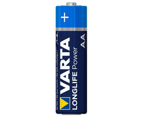 VARTA Longlife Power Mignon AA 4 Stueck