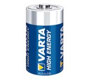 VARTA High Energy Mono, 1,5 Volt, 2 Stück