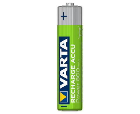 VARTA Longlife ACCU Micro AAA 4 Stueck