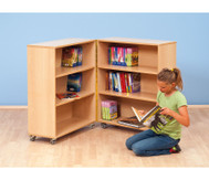 Klapp-Bibliothek 127,5 cm hoch