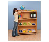 Fahrbares Bücherregal