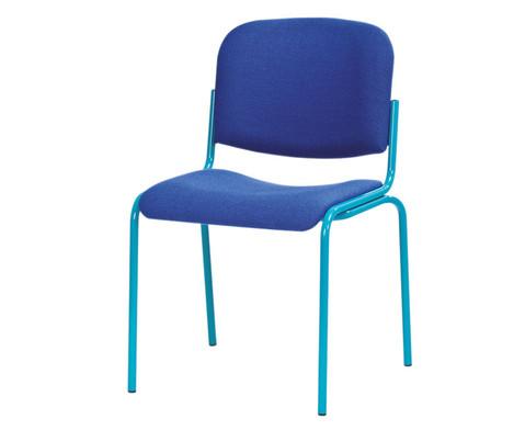 Besucherstuhl Klassik Sitz und Ruecken gepolstert