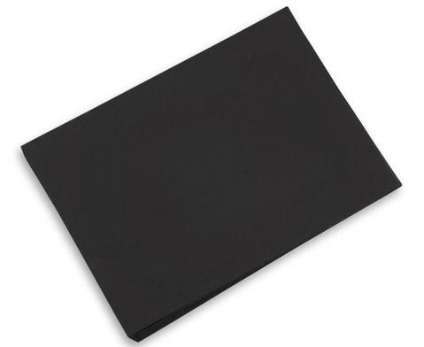 100 Bogen Tonzeichenpapier 50 x 70 cm schwarz