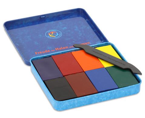 STOCKMAR Farbbloecke Wachsfarben 8 Stueck