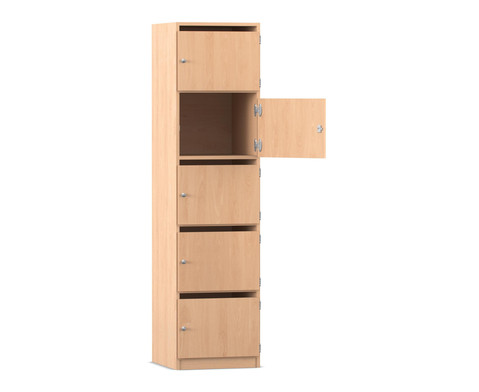 Flexeo Schliessfachschrank 5 Faecher 481 cm breit