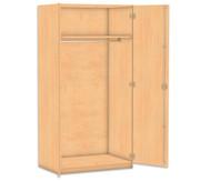 Flexeo Garderobenschrank, 1 Hutboden HxB: 190 x 94,4 cm