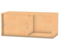 Flexeo Aufsatzschrank, Schiebetüren mit Mittelwand, HxB: 41,4 x 94,4 cm
