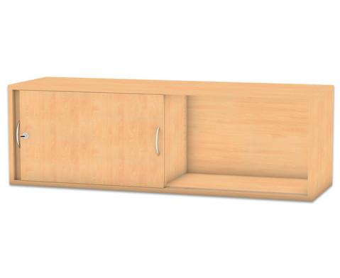 Flexeo Aufsatzschrank mit 2 Faechern HxB 414 x 1264 cm