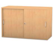 Flexeo Aufsatzschrank, Schiebetüren, 1 Fachboden, HxB: 60,6 x 94,4 cm