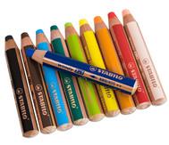 STABILO Woody-Farbstifte, 10 Farben