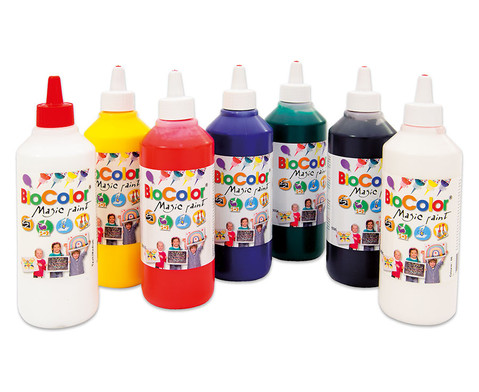 Bio-Color-Set 7 Flaschen mit 500 ml