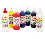 Bio-Color-Set: 7 Flaschen mit 500 ml