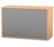 Flexeo Rollladen-Aufsatzschrank, 1 Fachboden HxB: 60,6 x 94,4 cm