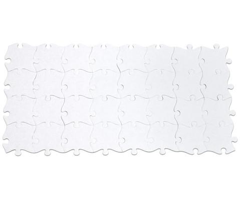 32 Riesen-Puzzleteile blanko-4