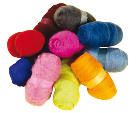 Maerchenwolle 1 kg in 10 Farben