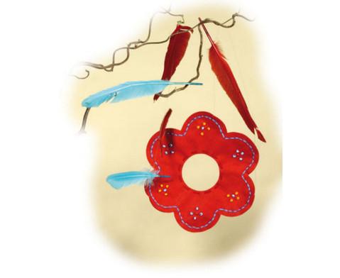 Filz-Blumen in tollen Farben-9