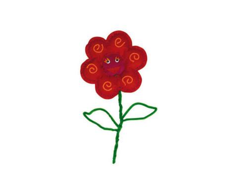 Filz-Blumen in tollen Farben-10