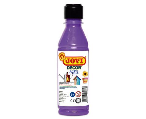 JoviDecor Acryl- Mehrzweckfarbe 250 ml-5