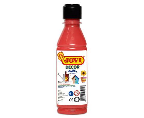 JoviDecor Acryl- Mehrzweckfarbe 250 ml-11