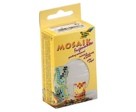 Mosaik-Fugenmasse 250 g weiss