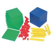 Systemblöcke Zehnerbasis-Satz, 121 Teile