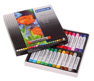Ölpastellkreide, Schachtel mit 24 Farben