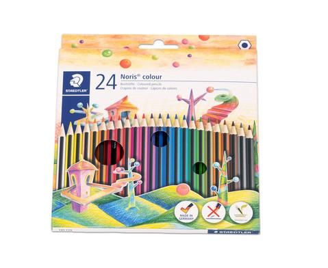 Farbstifte Noris Club Etui mit 24 Farben