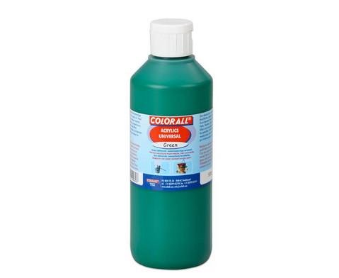 Acrylfarbe Einzelfarben je 500 ml-6