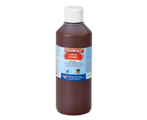 Acrylfarbe Einzelfarben je 500 ml-9