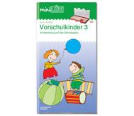 miniLÜK-Heft: Übungen für Vorschulkinder 3