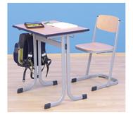 Schüler-Einer-Tisch, 70 x 55 cm, Tischhöhe 76 cm