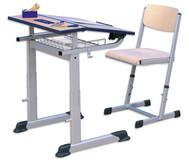 Schülertisch Ecoflex, Einer-Tisch