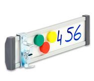Beschilderungssystem, Whiteboard-Türschild