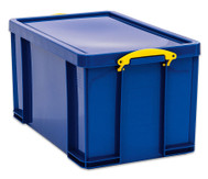 Really Useful Aufbewahrungsbox 84 l, blau