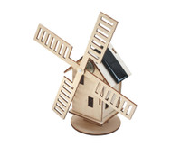 Windmühle mit Solarantrieb