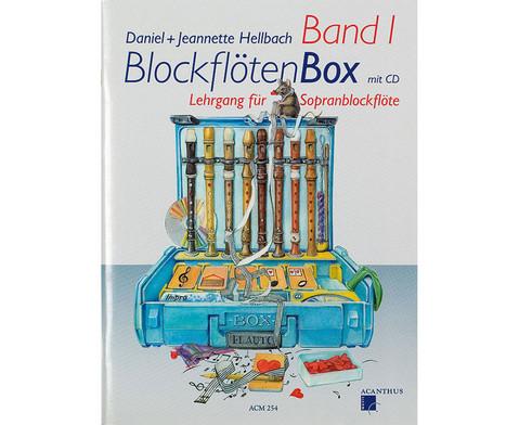 BlockfloetenBox - Band I mit CD