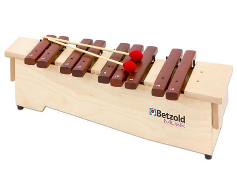 Betzold Musik Sopran-Xylophon chromatische Ergaenzung