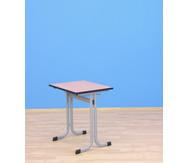 Einer-Schülertisch mit C-Fuß, 70 x 55 cm