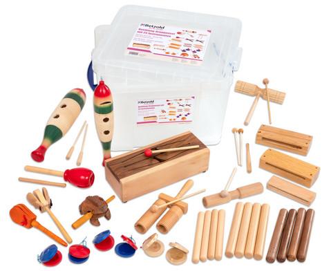Holzklang-Gruppenset mit 25 Instrumenten