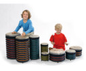 Trommus-Drums Bodentrommel - Spar-Set-2