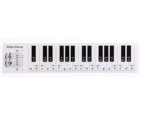 Stilles Klavier - kleine Version