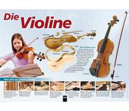 Poster - die Violine
