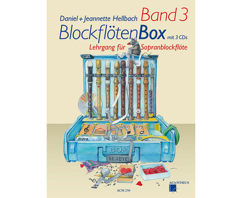 BlockfloetenBox Band III mit CDs