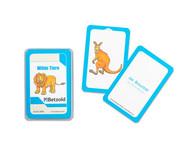 Wilde Tiere - Kartensatz für den Magischen Zylinder