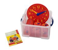 Schüler-Uhr Klassensatz mit 1 Lehreruhr und 25 Schüleruhren