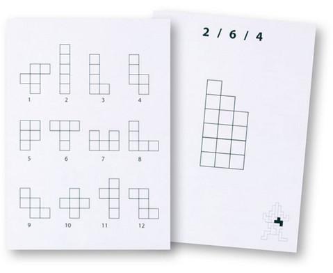 Betzold Pentomino-Arbeitskarten Satz 1