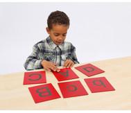 Tastplatten: Großbuchstaben