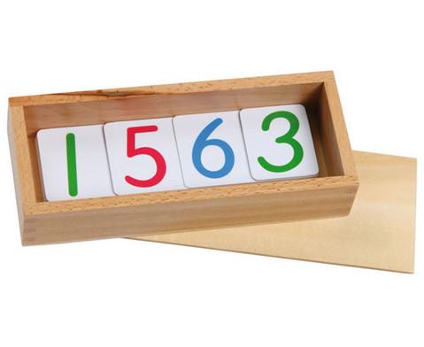 Betzold Zahlenkarten aus Kunststoff