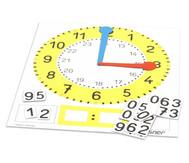 Tafel-Uhr, magnetisch